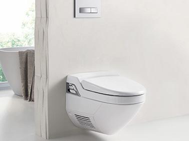 Dusch-WC hofft auf Hauptrolle