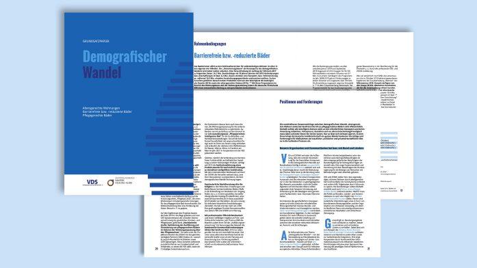 """Die Sanitärbranche hat jetzt das Grundsatzpapier """"Demografischer Wandel"""" veröffentlicht."""