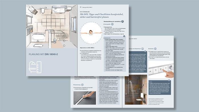 Das moderne Bad: Komfortabel. Sicher. Barrierefrei. - Ansicht der Seiten 22/23.