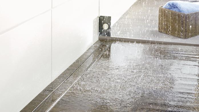 Sicherheit im Bad: Bodengleiche Dusche