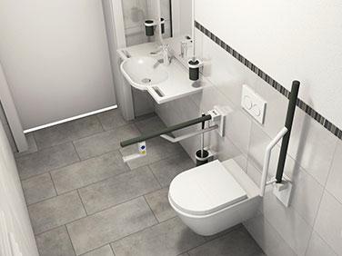aus zwei eins gemacht aktion barrierefreies bad. Black Bedroom Furniture Sets. Home Design Ideas