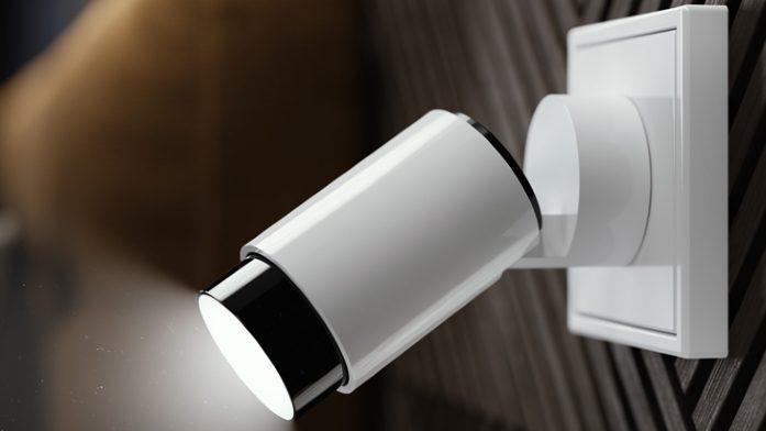 Foto der Lichtsteckdose