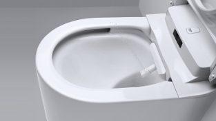 Das Dusch-WC wurde für seine gute Gestaltung und einfache Nutzung mit einem Award ausgezeichnet