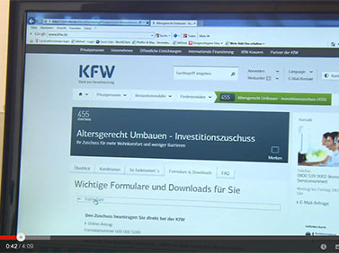 Erhöhte und erweiterte KfW-Förderung
