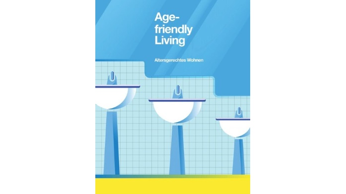"""Altersgerechtes Wohnen, symbolisiert von Yiwei Zhao, China, die damit den 3. Preis des Internationalen studentischen Plakatwettbewerbs """"Age-friendly Living"""" 2016 erhielt."""